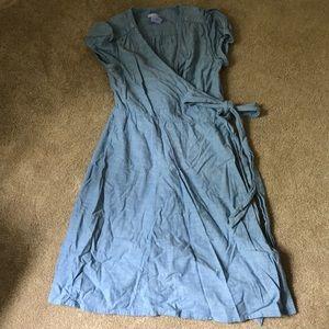 Denim Gap maternity dress